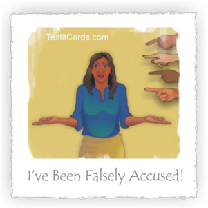 Falsely Accused?