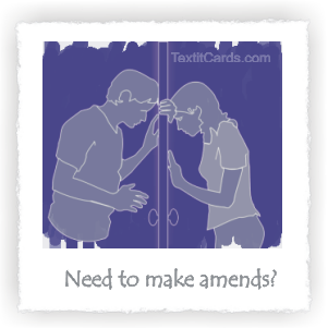 Need to Make Amends?