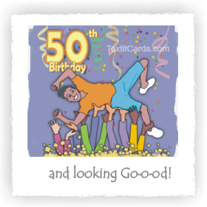 Happy 50th Birthday!